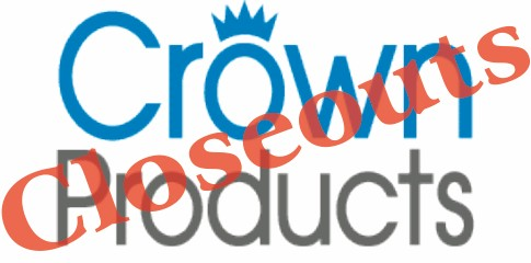 Crown Products Closeouts
